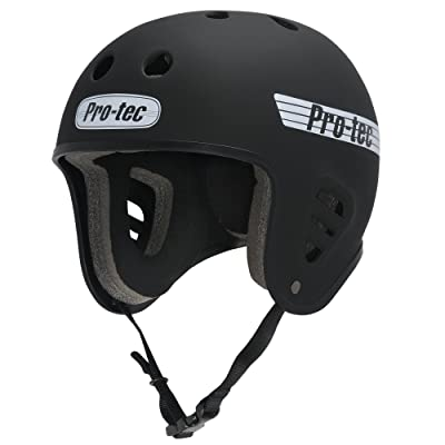 PROTEC Original Full Cut Helmet, Satin Black, X-Large : Sports & Outdoors