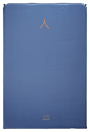 GRAND CANYON Cruise 5.0 doble – colchoneta aislante autohinchable, 196 x 130 x 5 cm, azul, 305036