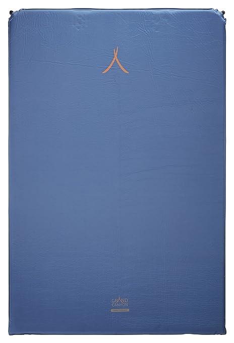 GRAND CANYON Cruise 5.0 doble – colchoneta aislante autohinchable, 196 x 130 x 5 cm
