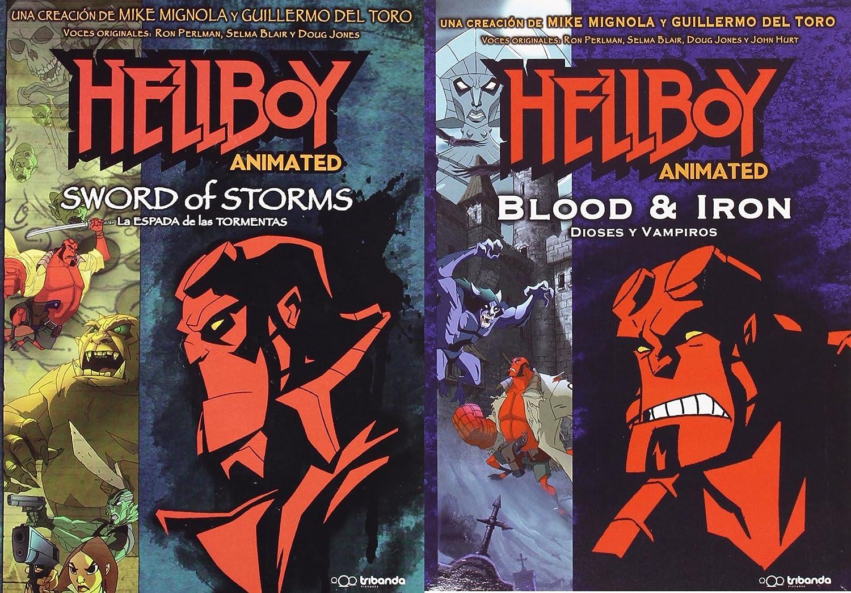 HELLBOY la espada de las tormentas + Dioses y Vampiros Pack 2 DVD: Amazon.es: Cine y Series TV