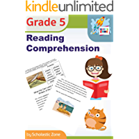 Reading Comprehension, Grade 5: Daily Reading Workbook for Classroom and Home, Reading Comprehension and Phonics Practice, School Level Activities (Skill Builders)