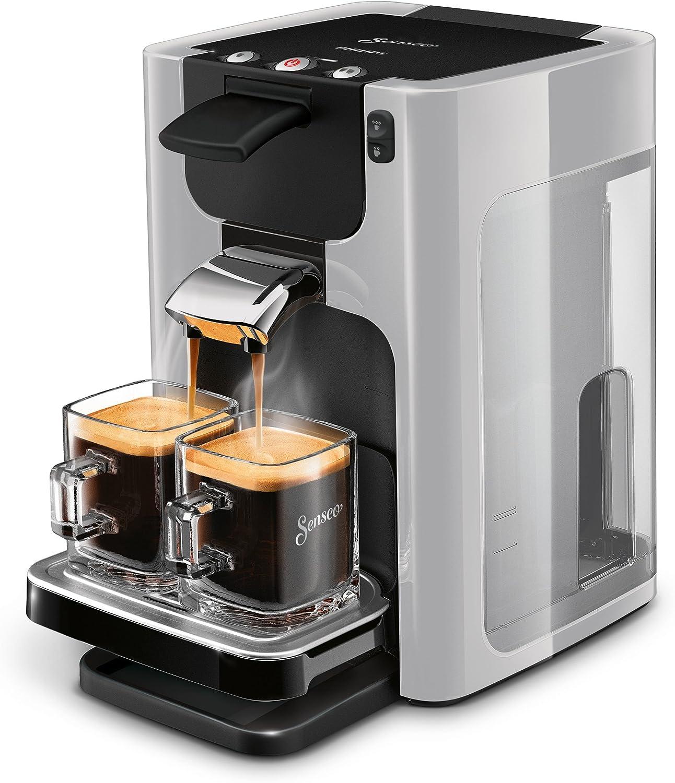 Senseo Quadrante HD7866/11 - Cafetera (Independiente, Máquina de café en cápsulas, 1,2 L, Dosis de café, 1450 W, Gris): Amazon.es: Hogar