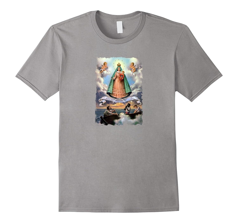 Virgen de la Caridad Cobre T-Shirt Our Lady of Charity Tee-TD