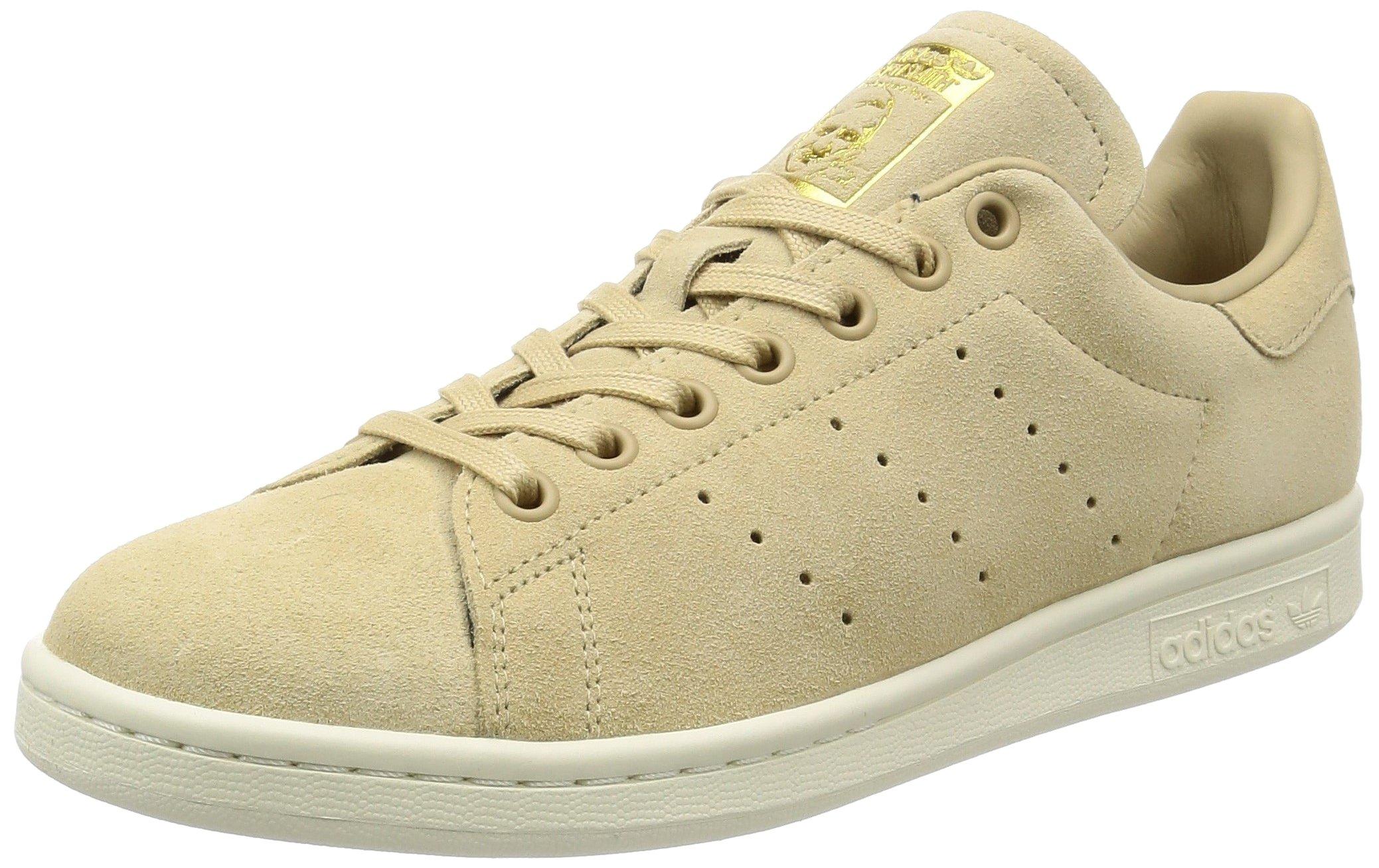 później atrakcyjna cena Nowe Produkty adidas Originals Stan Smith Mens Trainers Sneakers (UK 4.5 US 5 EU 37 1/3,  Linen Khaki Off White BB0039)