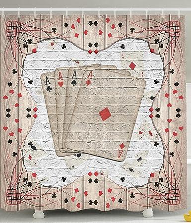 Amazon Com Casino Decorations Playing Cards Lover Design Gambler
