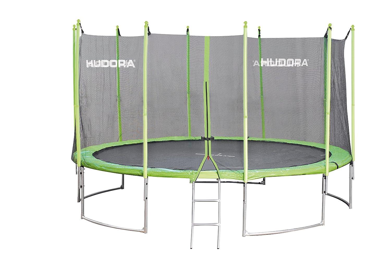 Hudora familiar trampolín, Familiale, verde, 300 cm: Amazon.es ...