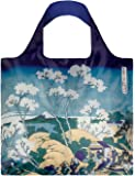 HOKUSAI Fuji from Gotenyama Bag: Gewicht 55 g, Größe 50 x 42 cm, Zip-Etui 11 x 11.5 cm, handle 27 cm, water resistant, made of polyester, OEKO-TEX certified, can carry up to 20 kg