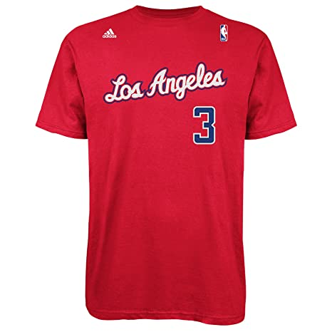 7138f56dbfec Amazon.com   NBA Los Angeles Clippers Red The Go To Tee Chris Paul ...
