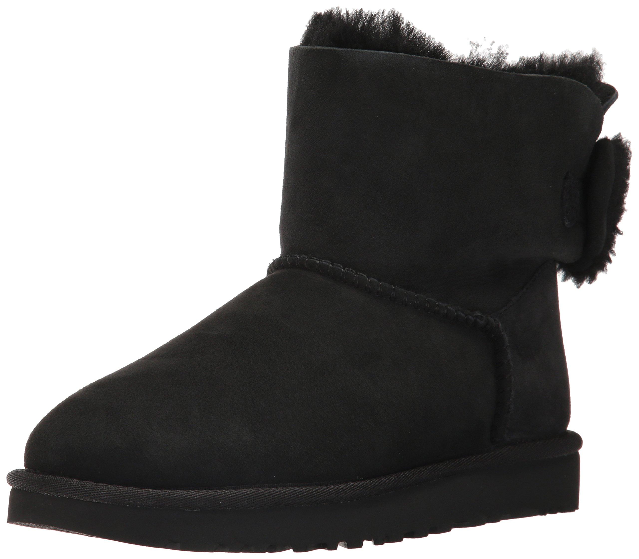 UGG Women's Arielle Winter Boot, Black, 6 M US