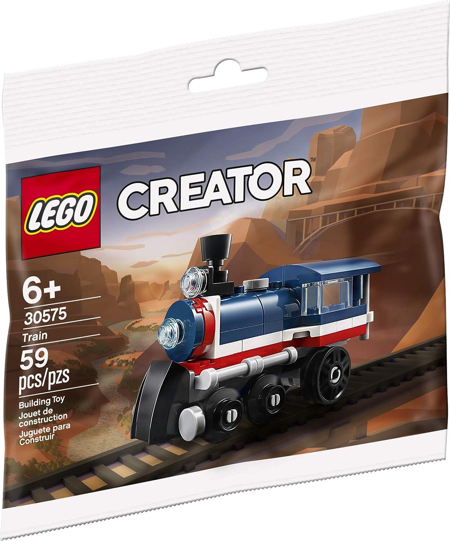 Lego Creator Steam Train Set 30575 Brand New//Sealed//Stocking Filler//Christmas