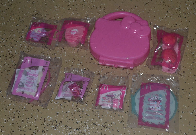 Amazon.com : Rare Mcdonalds Hello Kitty / Sanrio (Set of 8 ...