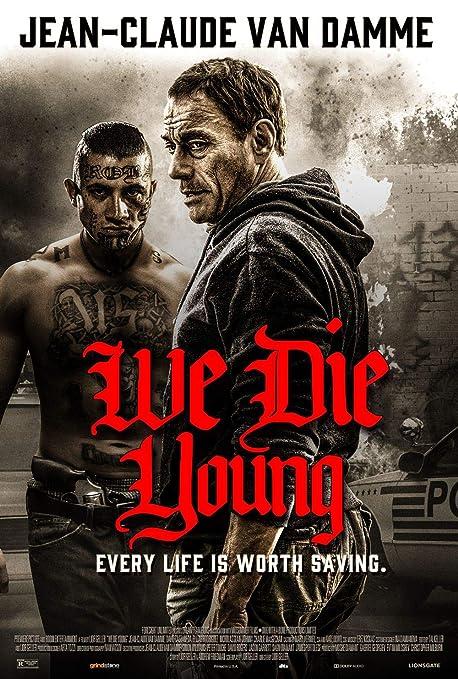 Lionbeen We Die Young Movie Poster Cartel de la Pelicula 70 ...
