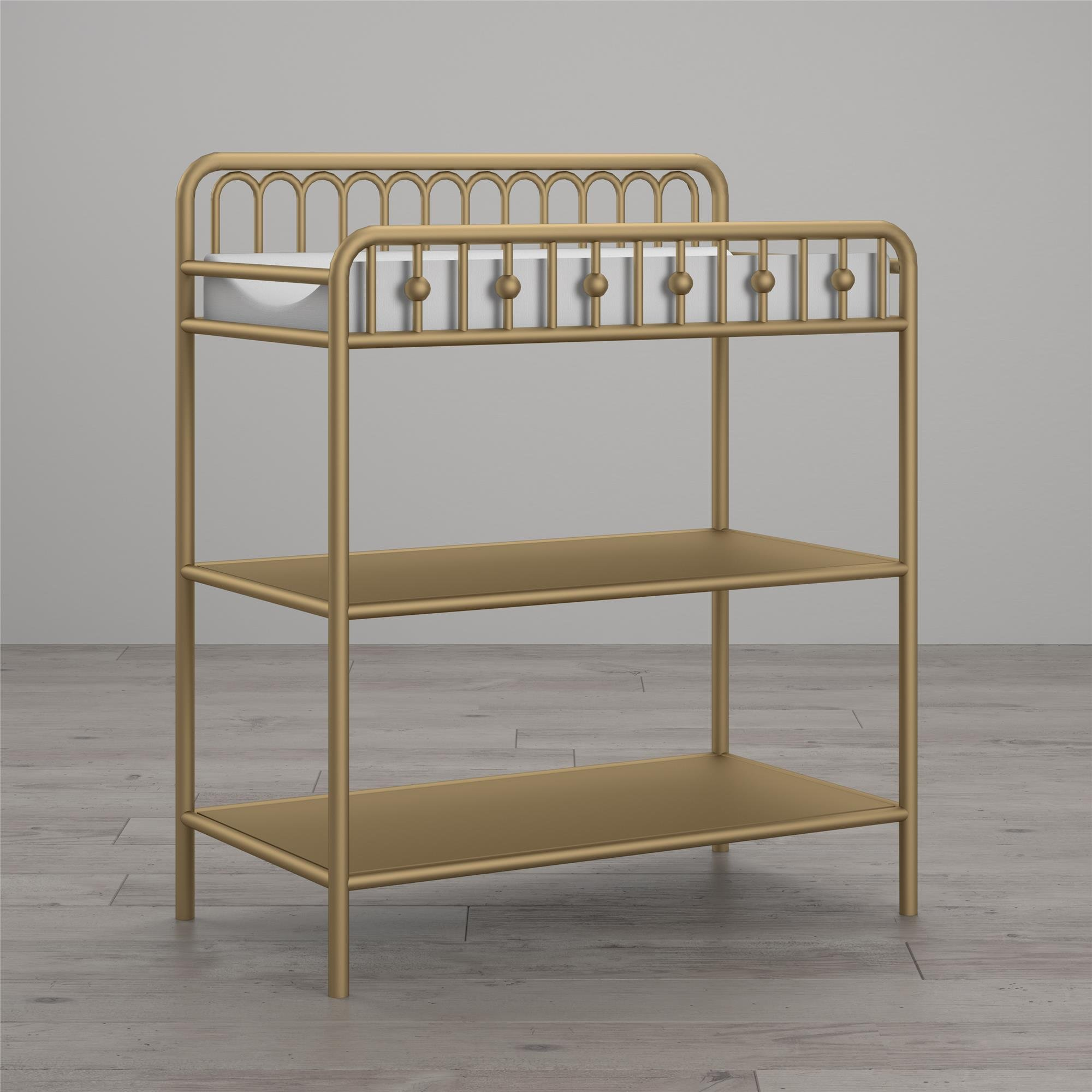Little Seeds Monarch Hill Ivy Metal Changing Table, Gold by Little Seeds