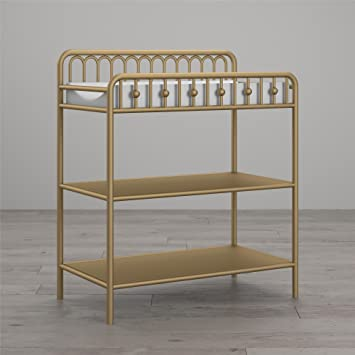 Charmant Little Seeds Monarch Hill Ivy Metal Changing Table, Gold