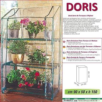 New Gewachshaus Doris Zur Terrasse Balkon Garten Mit 3 Etagen