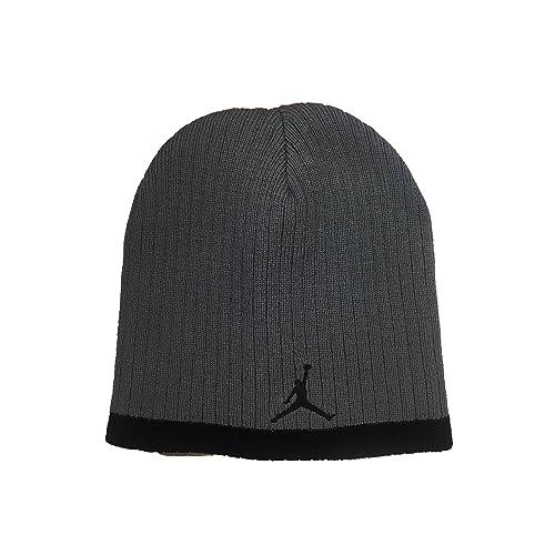 2a2d1e791569 ... hat black front 460c6 386b1  amazon jordan jumpman 23 boys knit beanie  9dd02 e85d9