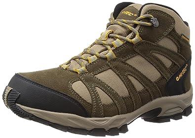 Hi-Tec Alto WP Mid Trail Boot - 8 - Brown