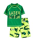 Carter's Toddler Boys' Rashguard Set