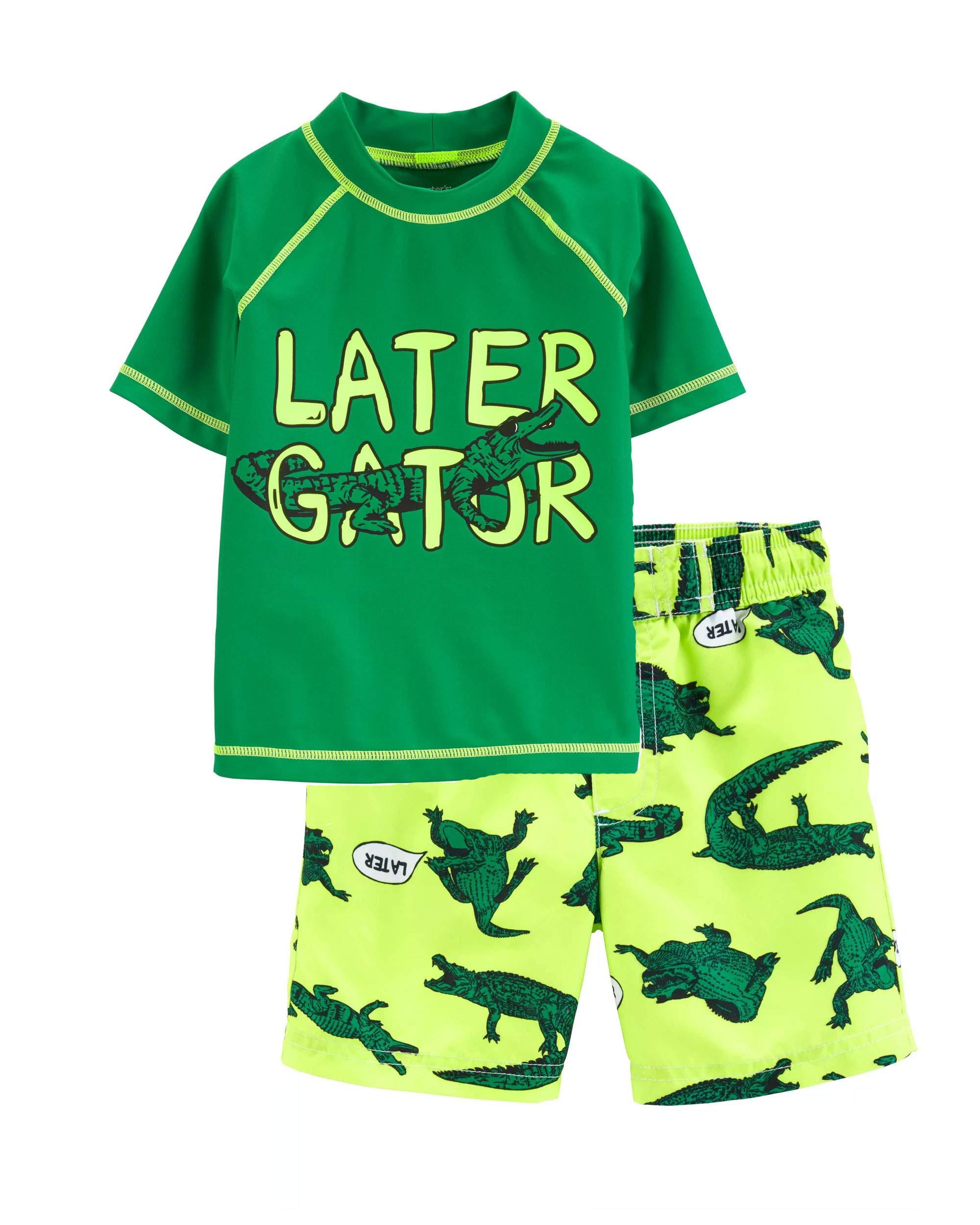 Carter's Toddler Boys' Rashguard Set