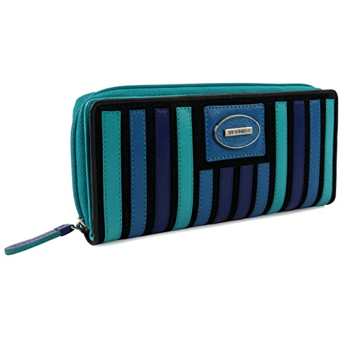 Visconti - Cartera para Mujer Blue Hue: Amazon.es: Zapatos y complementos