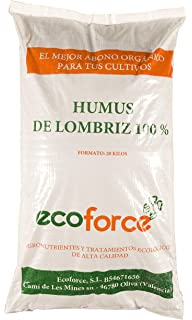 Flower 80089 80089-Humus de lombriz, 20 l, No aplica ...