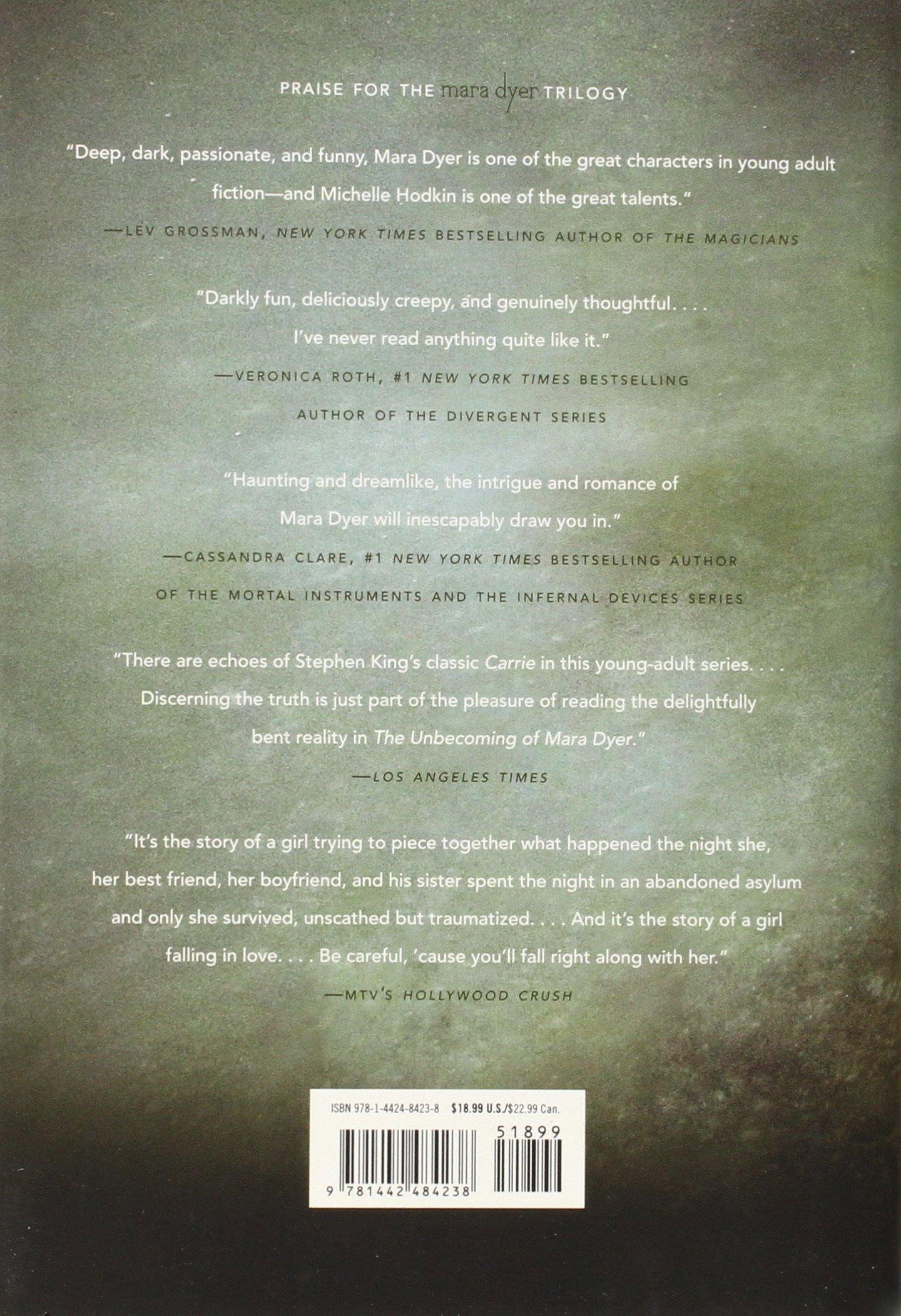 The Retribution Of Mara Dyer (mara Dyer Trilogy): Amazon: Michelle  Hodkin: Libros En Idiomas Extranjeros