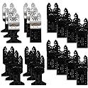 EONLION 20-Pc. Metal/wood Quick Release Saw Blades Kit