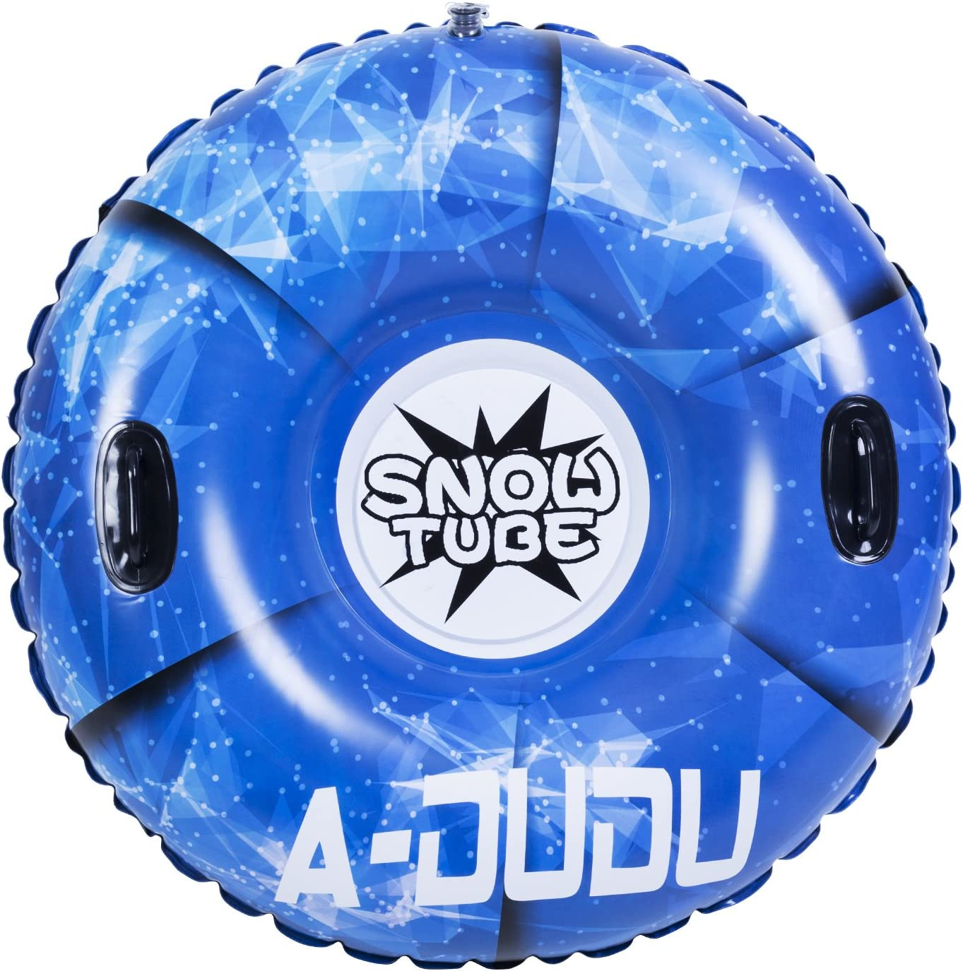 A-DUDU Snow-Tube super gro/Ã/Ÿe 47-Zoll-schlauchboot Schnee-Schlitten mit Rapid ventile Heavy Duty aufblasbare schneerohr