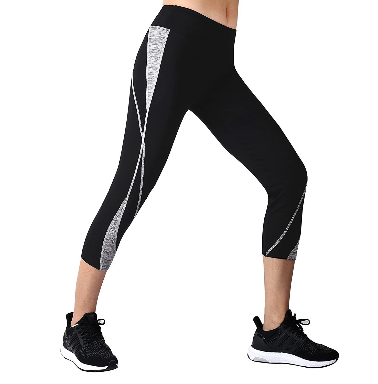 Neonysweets Womens Workout Leggings Active Tights Running Yoga Pants Trousers