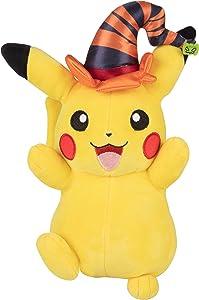 Pokémon Pikachu Halloween Plush Stuffed Animal, 8