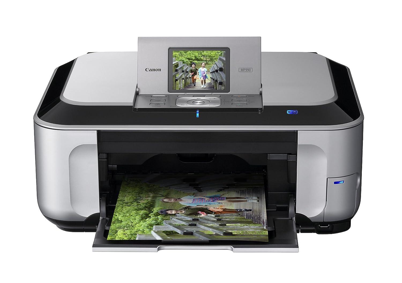 Amazon.com : Canon PIXMA MP990 Wireless Inkjet Photo All-In-One Printer  (3749B002) : Multifunction Office Machines : Electronics