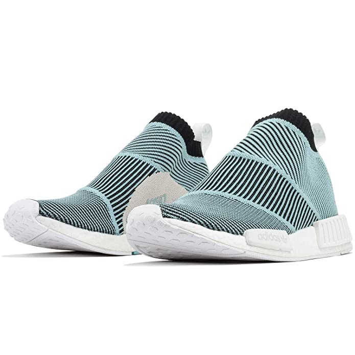 Amazon.com | adidas Mens NMD_CS1 Parley PK Black/White AC8597 | Basketball