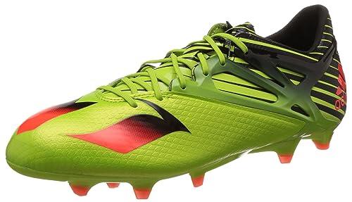 adidas Messi 15.1 Scarpe da Calcio Uomo Giallo Semi Solar Slime/Solar Red/Cor