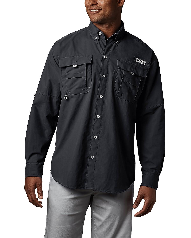 Amazon Columbia Mens Pfg Bahama Ii Long Sleeve Shirt