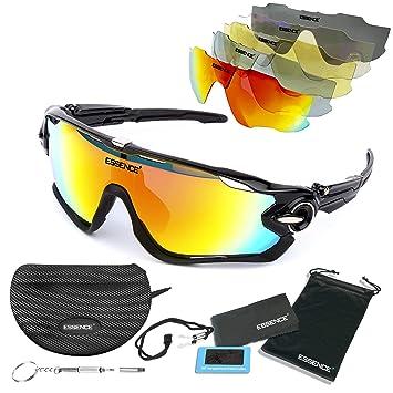 essence polarizada Deportes Gafas de Sol/Ciclismo para Hombres Mujeres-Deporte al Aire Libre esquí de conducción de Pesca de Golf – protección UV400 ...