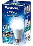パナソニック LED電球 口金直径26mm 電球60W形相当 昼光色相当(7.0W) 一般電球・広配光タイプ 1個入り 密閉形器具対応 LDA7DGEW