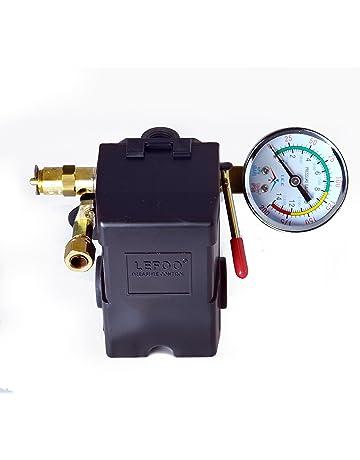 26 AMP H/D PRESSURE SWITCH AIR COMPRESSOR 145-175 4 PORT w/