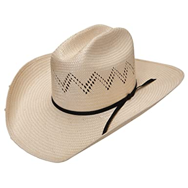 947a3384f0 RESISTOL HAT 7X Riley Straw Hat - Brown -  Amazon.co.uk  Clothing