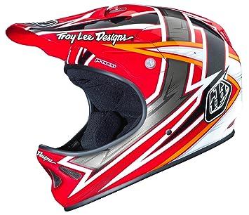 Troy Lee Designs cuesta abajo-casco D2, todo el año, Unisex, color