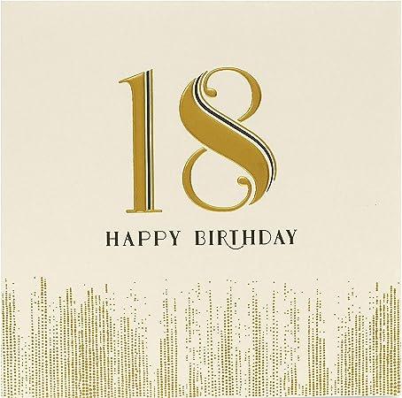 Amazon Com 18th Birthday Card 18th Birthday Cards For Girls Birthday Card 18th Girl Birthday Card 18 Age 18 Birthday Card 18th Birthday Gifts For Girls