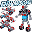 7TECH 233-Piece DIY Model Building Blocks Toy