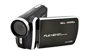 Bell+Howell DV30HD-BK HD Video Camera with 3