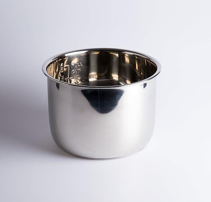 Cubeta Acero INOX para Olla programable de 6 litros. GM, Cocimix ...