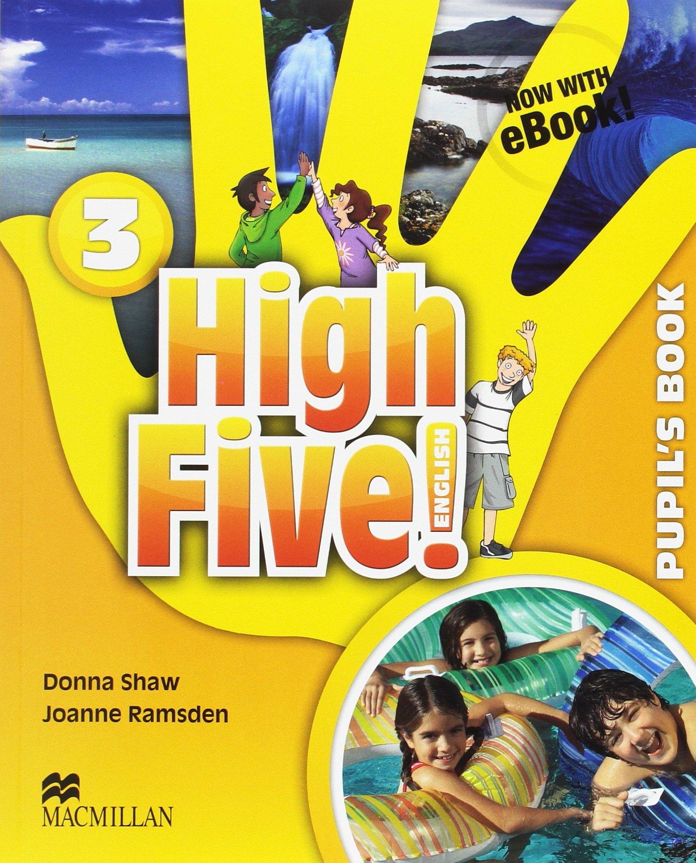 HIGH FIVE! 3 Pb (ebook) Pk (Inglés) Tapa blanda – 2015 Donna Shaw Joanne Ramsden Macmillan 1380014689