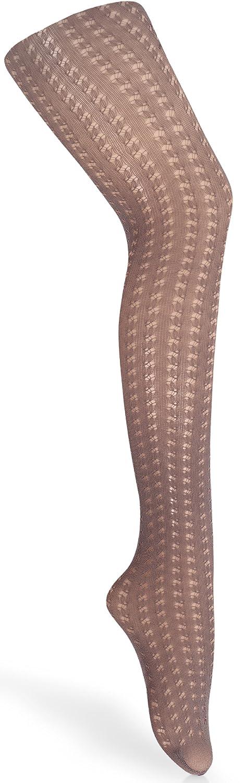 Gatta Girls Chic Tights with Trendy Pattern Donatella