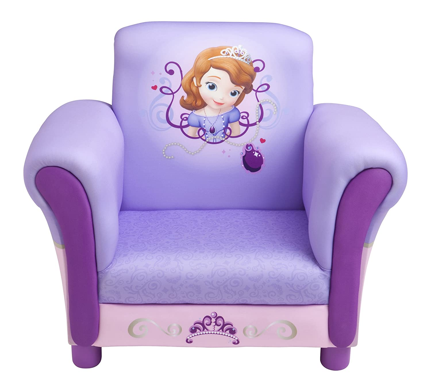 Amazon.com: Disney Sofia The First Upholstered Chair By Delta: Kitchen U0026  Dining