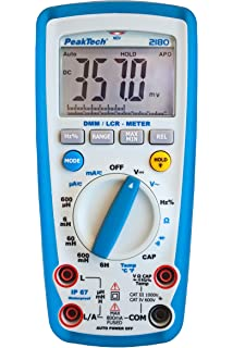 PeakTech LCR Medidor de – Inductancia 20H – Capacidad 200μf ...