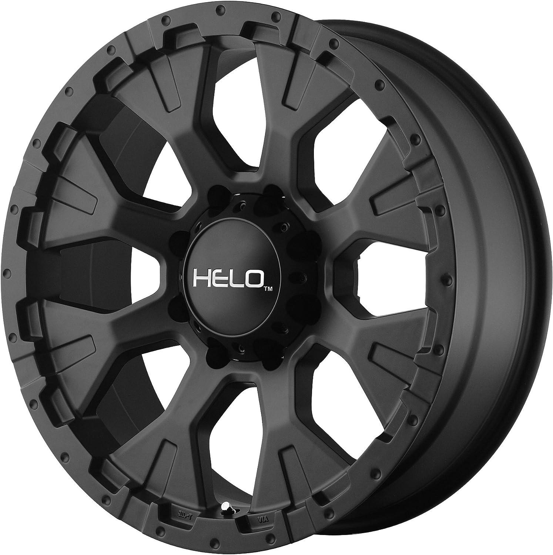 "Helo HE878 Wheel with Satin Black Finish (17x9""/5x4.5"")"