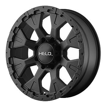 Amazon Com Helo He878 Wheel With Satin Black Finish 17x9 5x5