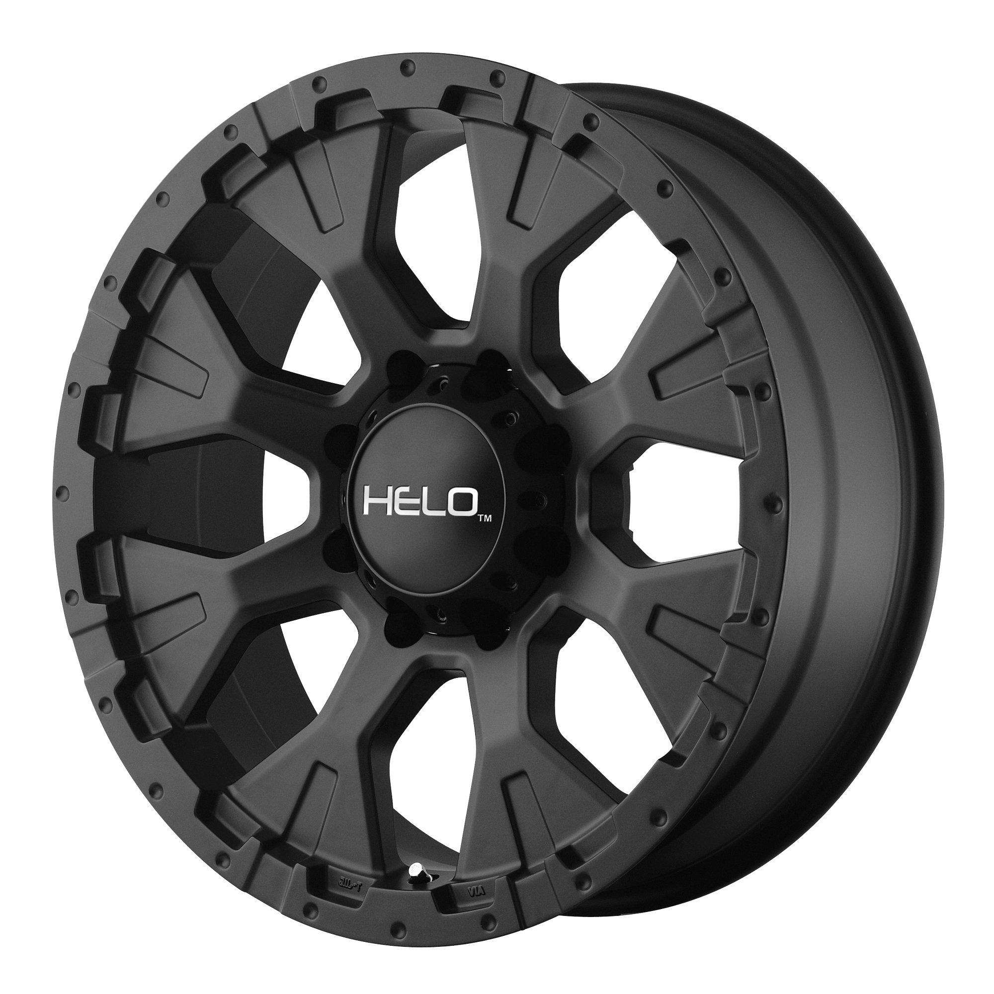 Helo HE878 Wheel with Satin Black Finish (17x9''/5x5'')
